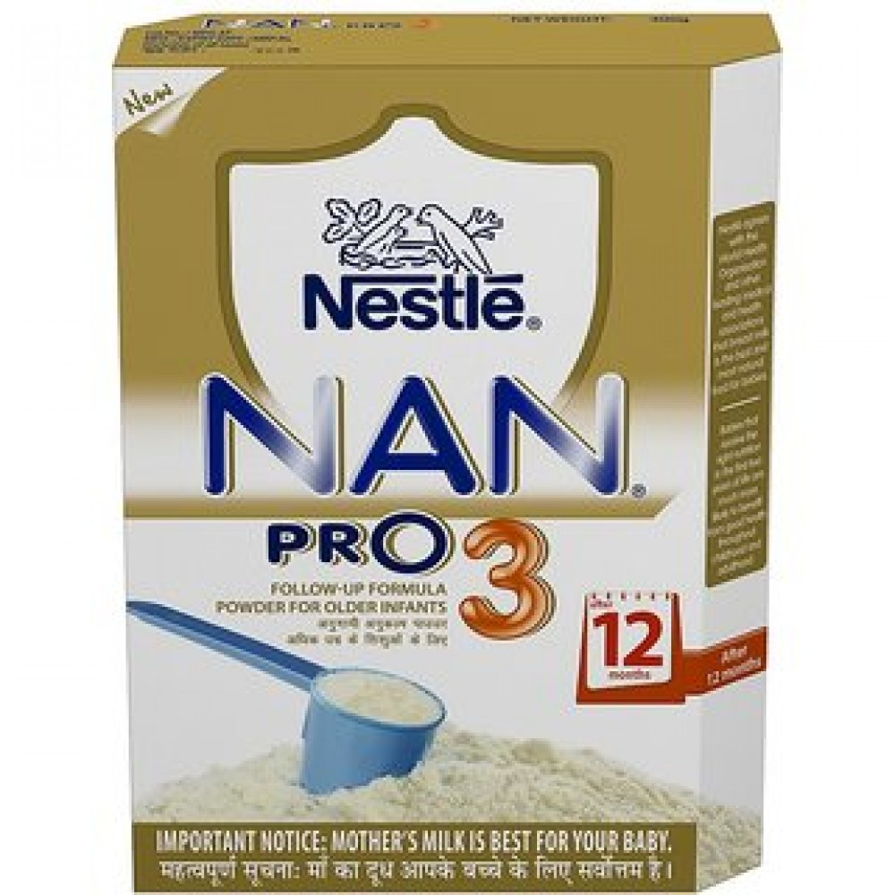 NESTLE NAN PRO 3 AFTER 12 MONTHS