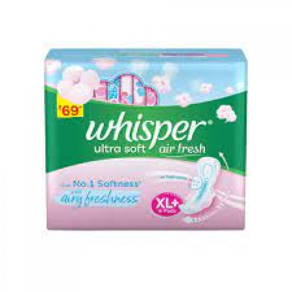 WHISPER ULTRA SOFT XL+ 7 PADS