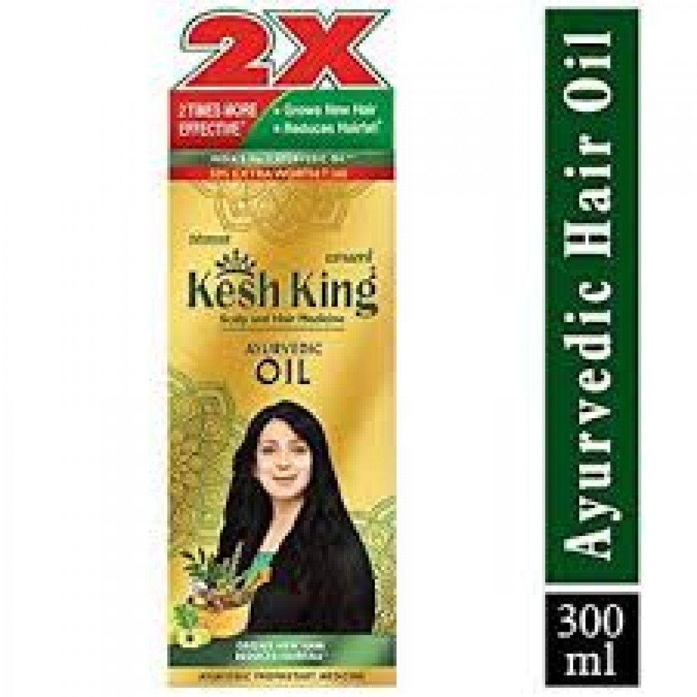 KESH KING AYURVEDIC OIL 300ML