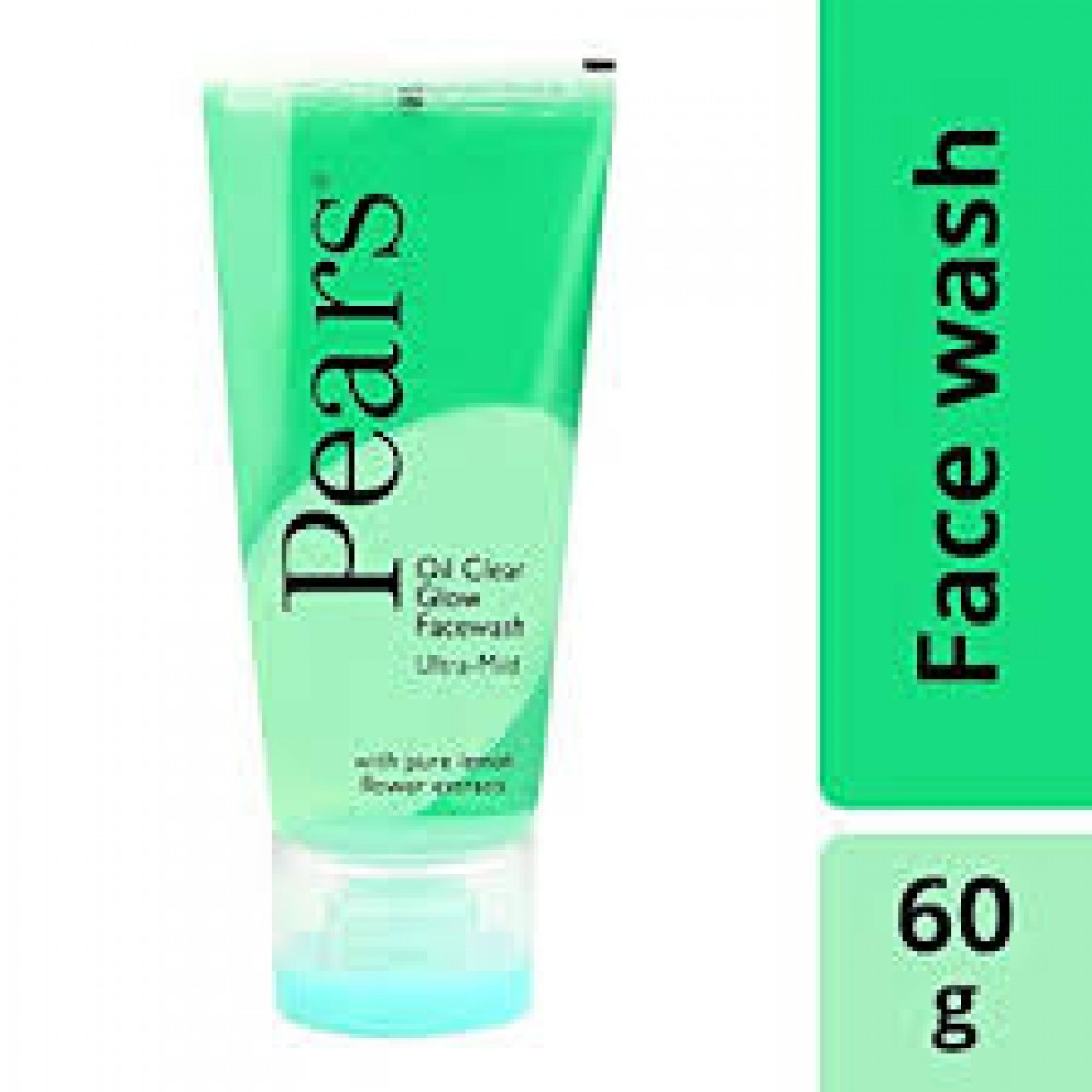 PEARS OIL CLEAR FACE WASH 60g