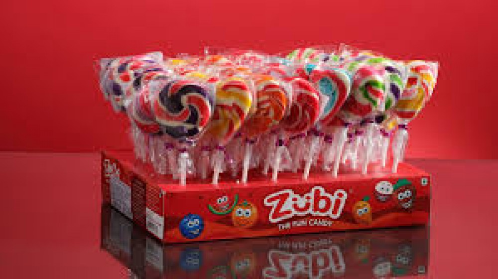 ZUBI LOLY LOVE CANDY 50gm
