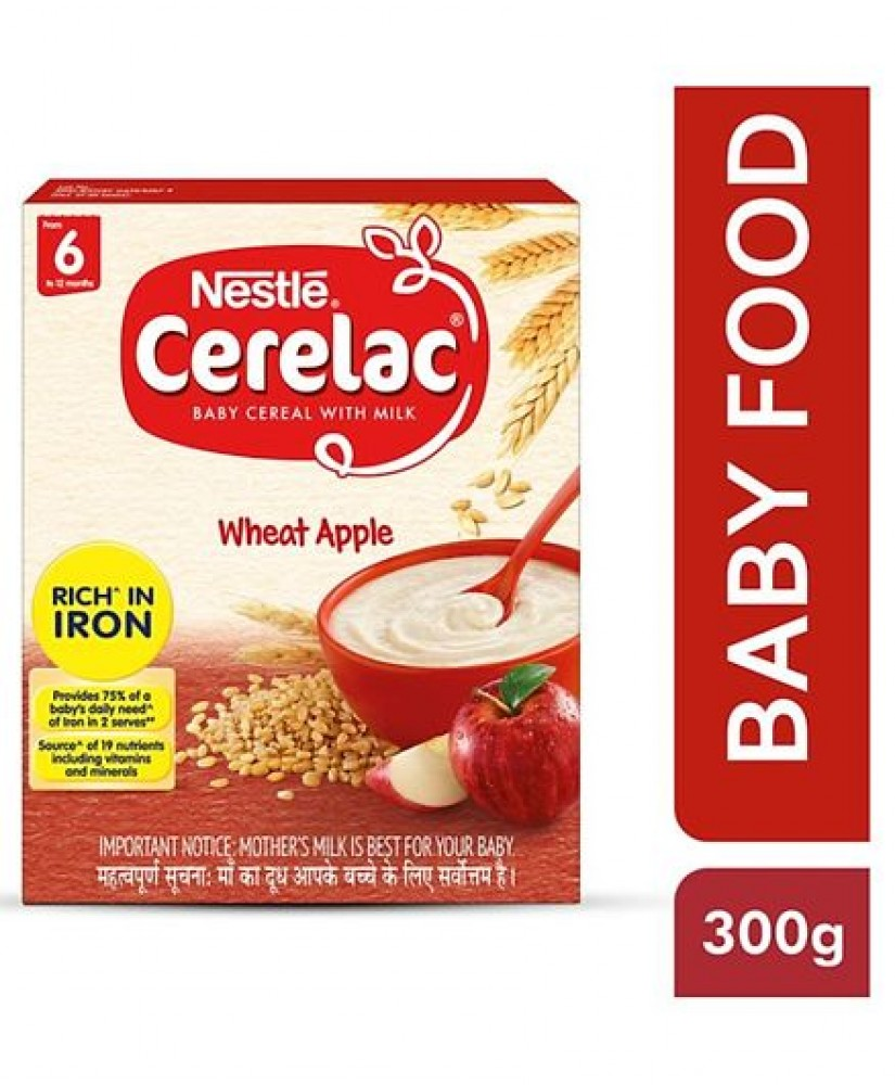 NESTLE CERELAC WHEAT APPLE FROM 6+ 300g