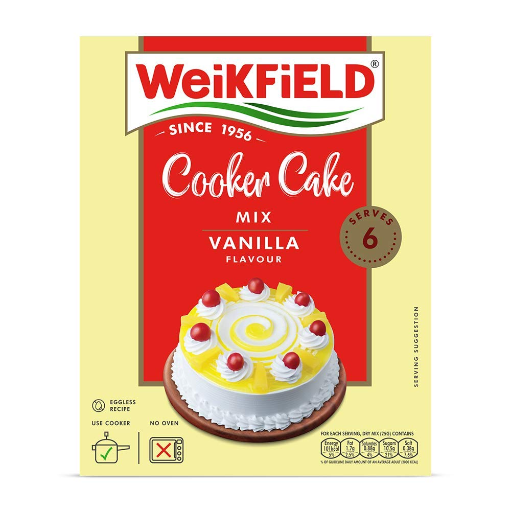 WEIKFIELD COOKER CAKE MIX CHOCOLATE 175g