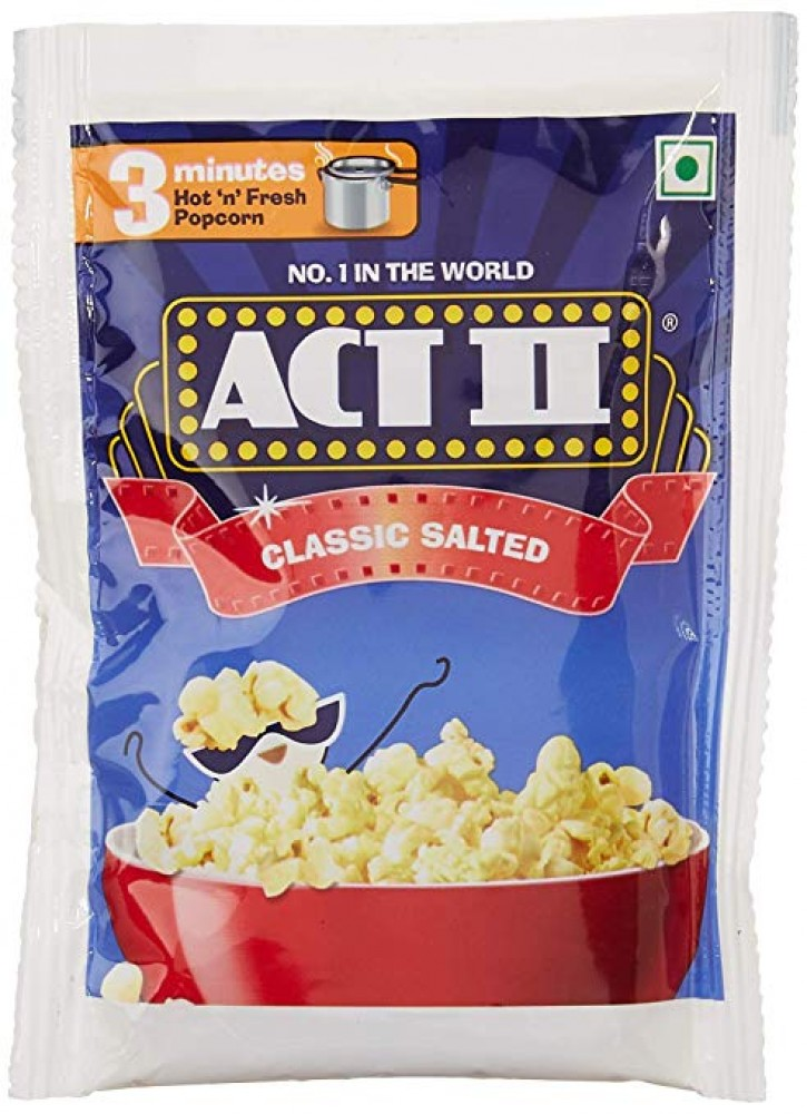 ACT II CLASSIC SALTED 120g