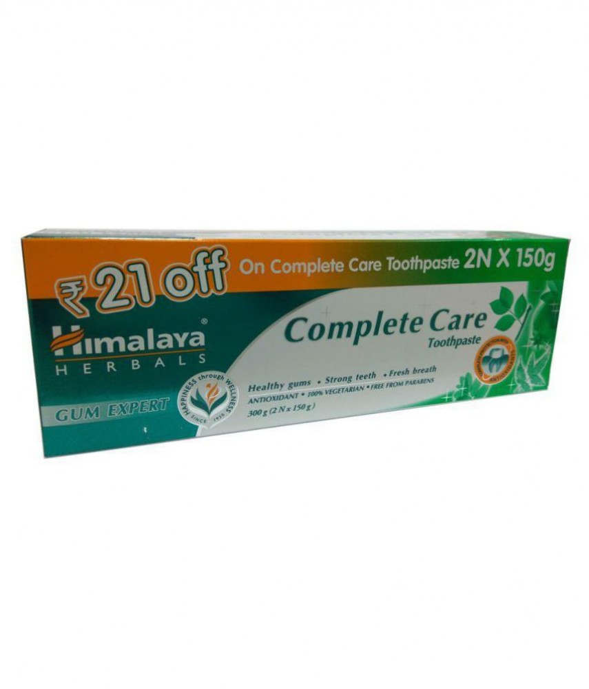 HIMALAYA COMPLETE CARE TOOTHPASTE  2Nx150g