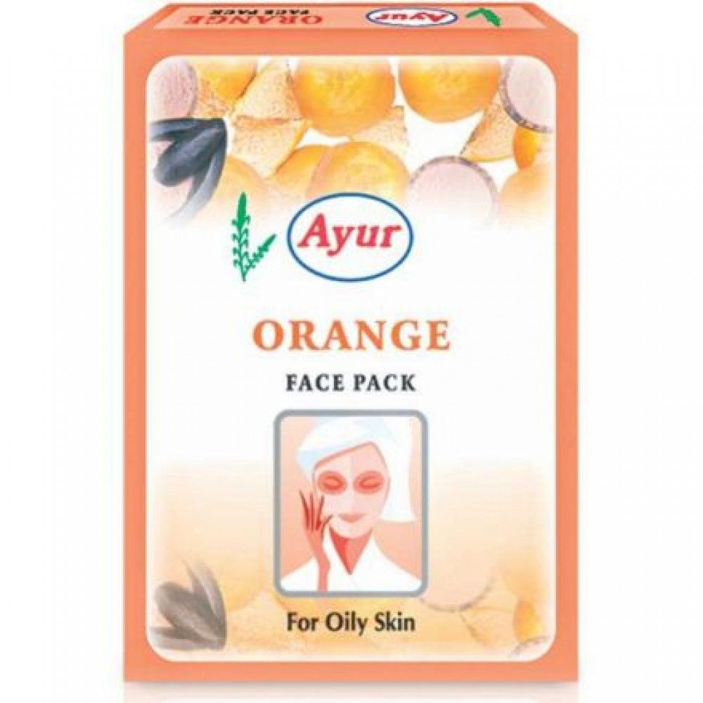 AYUR HERBALS ORANGE FACE PACK 25g