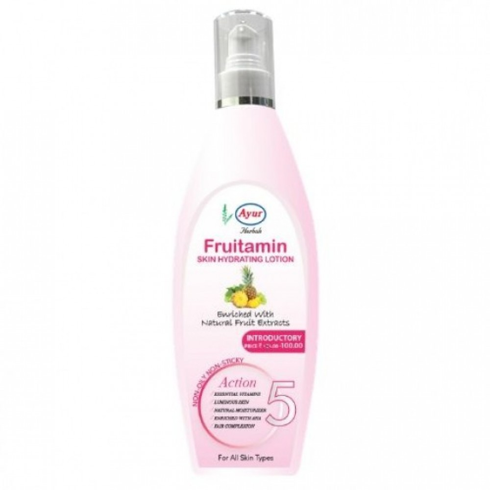 AYUR HERBALS FRUITAMIN LOTION 100ml