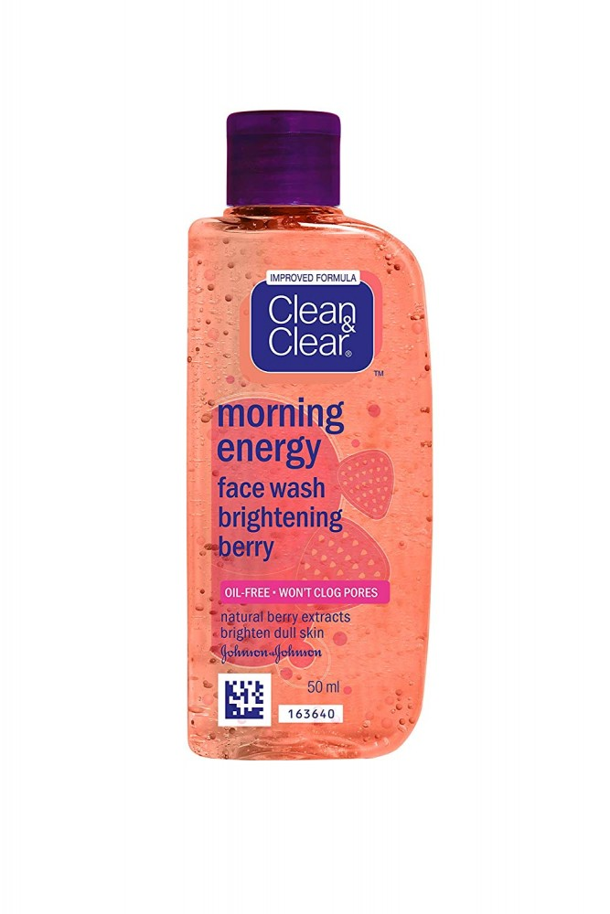 CLEAR& CLEAR MORNING ENERGY BERRY BLAST FACE WASH 50ml