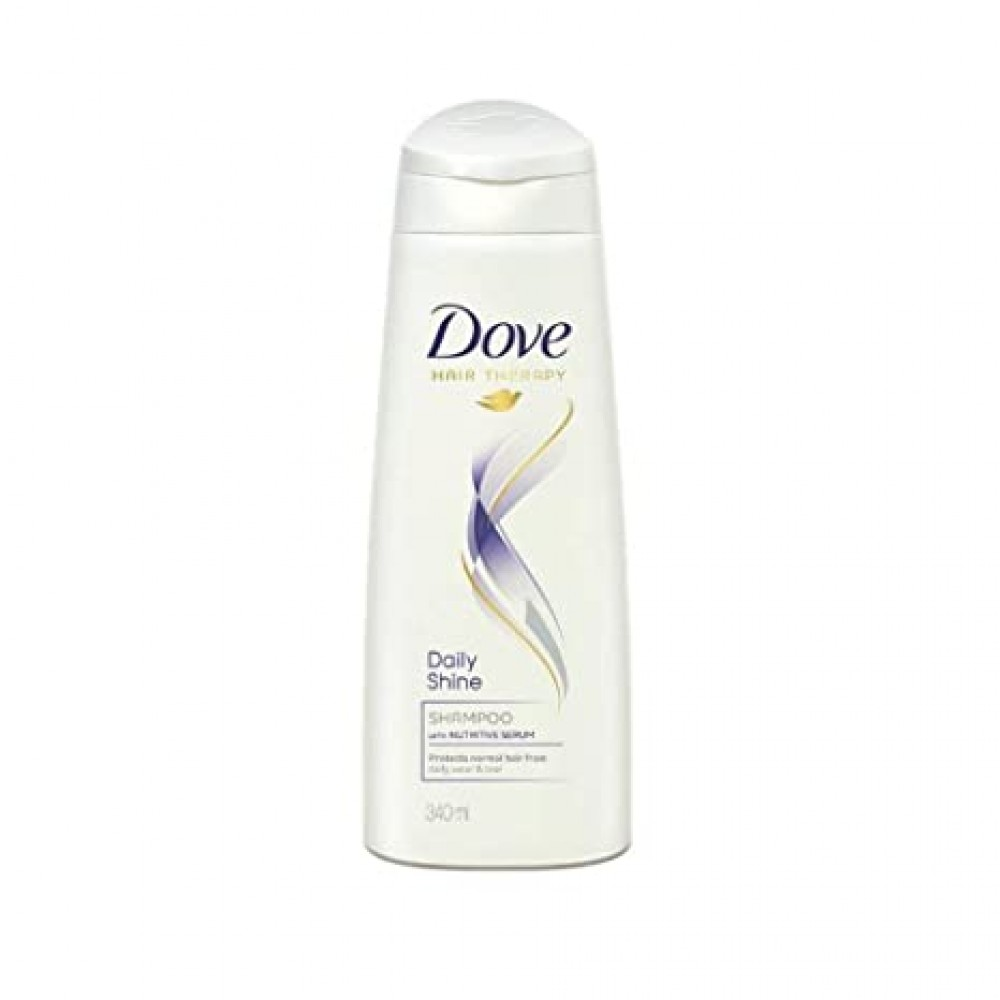 DOVE DAILY SHINE SHAMPOO 180ml+CONDITIONER 80ml