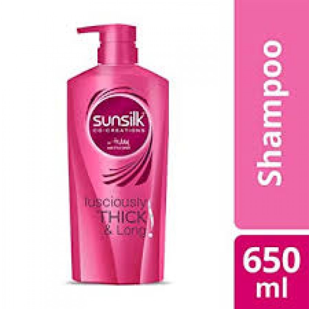 SUNSILK THICK & LONG SHAMPOO 650ml